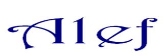 Alef - Associazione Liberi e Forti