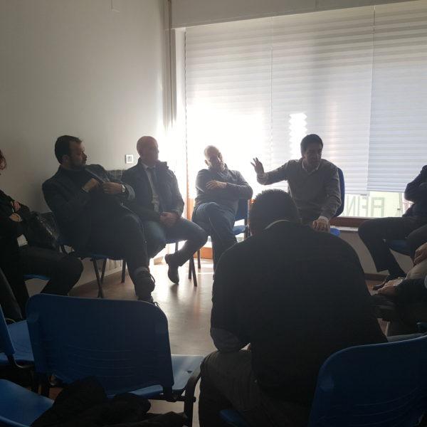 Riunione del coordinamento nella sede regionale di IDEA a Pescara