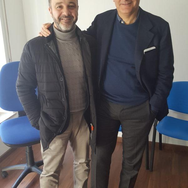 Gaetano Quagliariello con Antonio Morgante